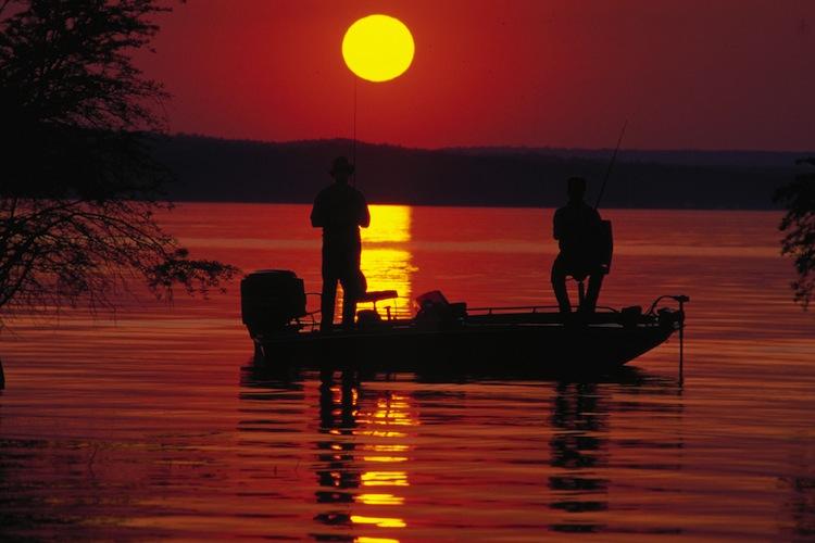 Night Bass Fishing